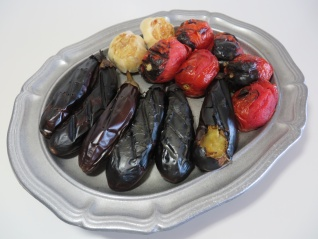 Mirza Ghassemi • میرزا قاسمی • Smoked Eggplant Tomato Garlic | Fae's Twist & Tango (fae-magazine.com)