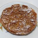 Galatopita • Ruffled Milk Pie   Fae's Twist & Tango (fae-magazine.com)